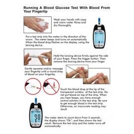 Blood Glucose Meter (Easymax) Starter Kit, Glucometer Set